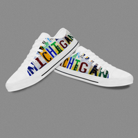 Custom Classic Letter Word On Upper Canvas Print Converse Shoes