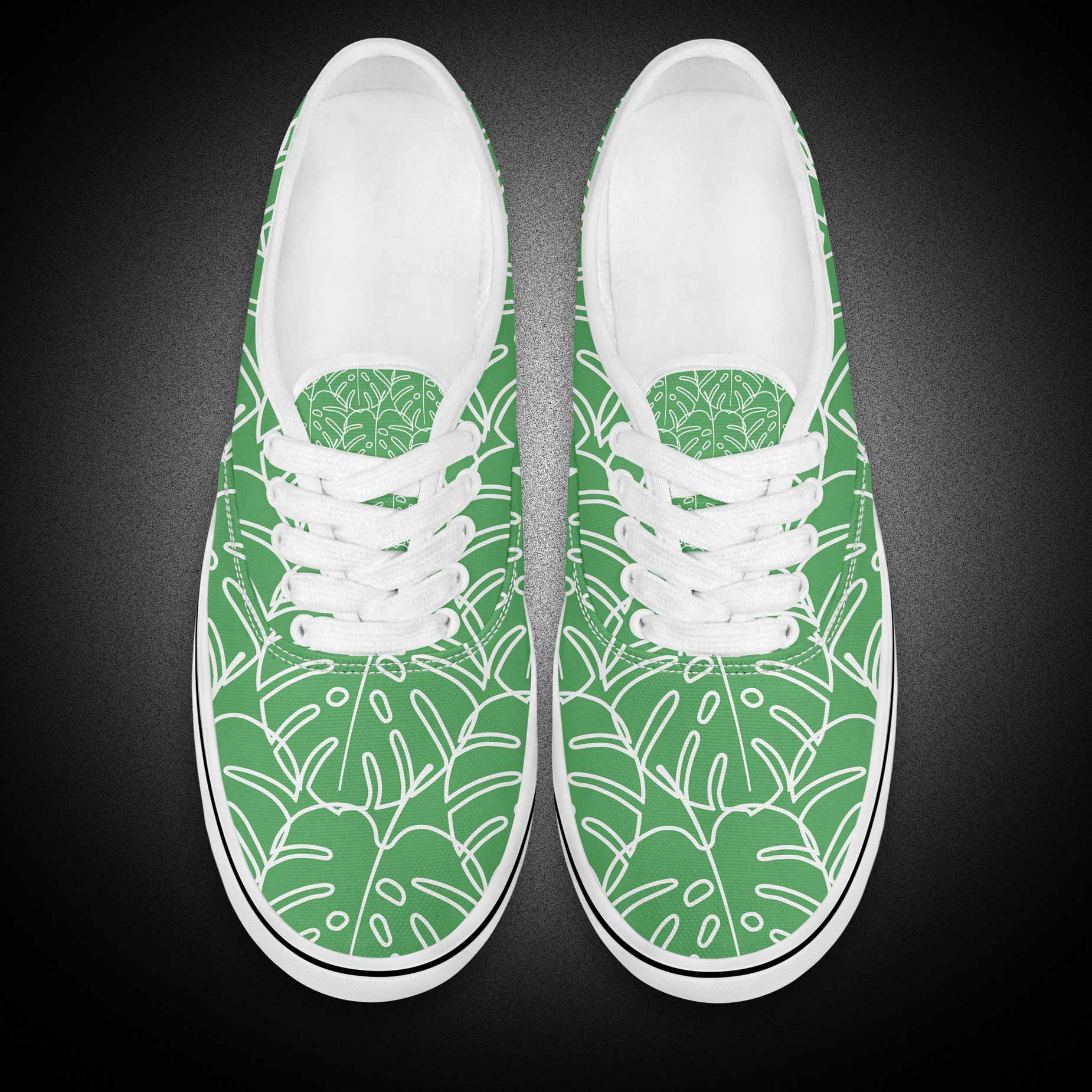 Custom Chinese Style Design Vans Women Canvas Shoes