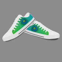 Custom Logo Hot Sale Converse Canvas Print Shoes