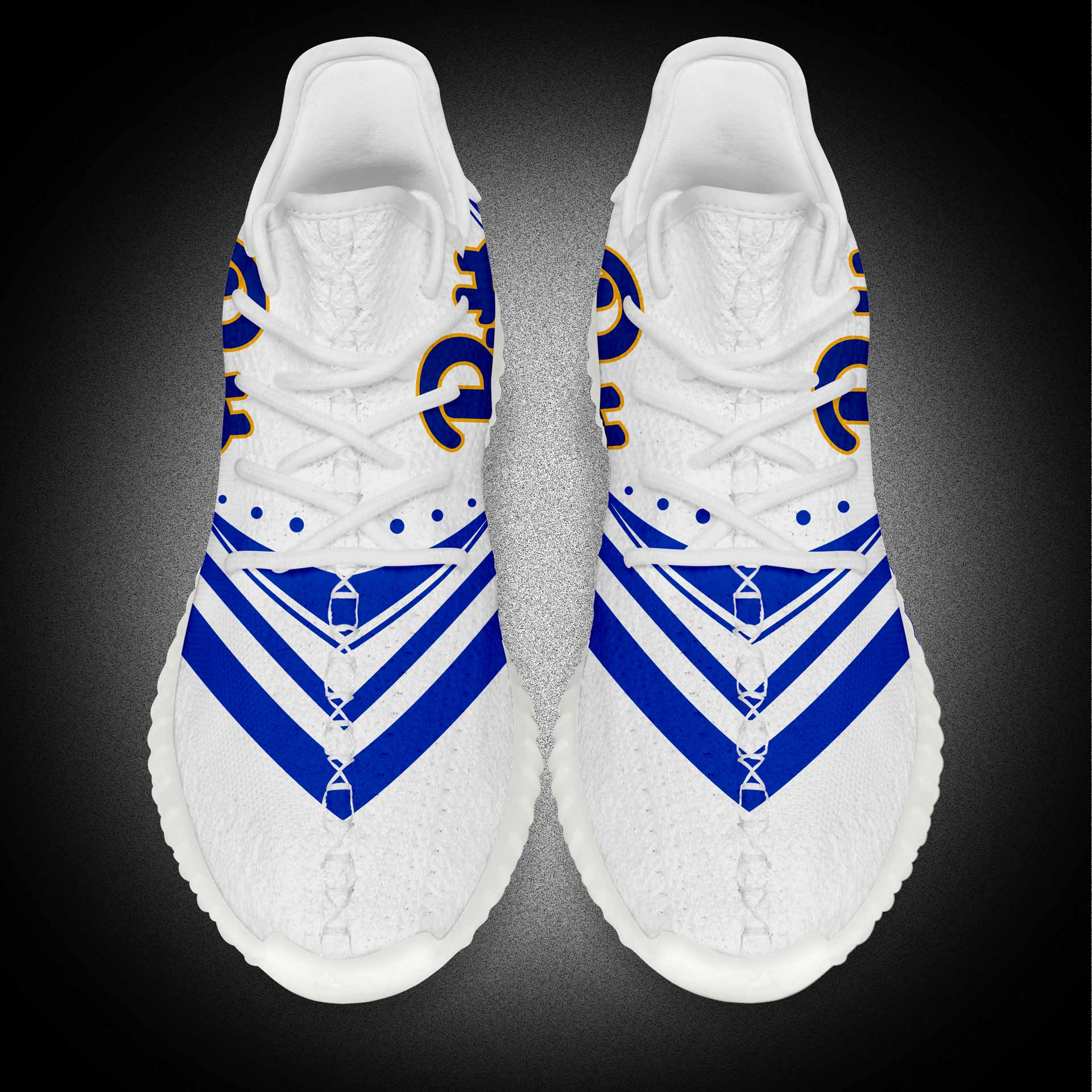White Color Yeezy Boost Most Popular Men Fashion Sports Shoes