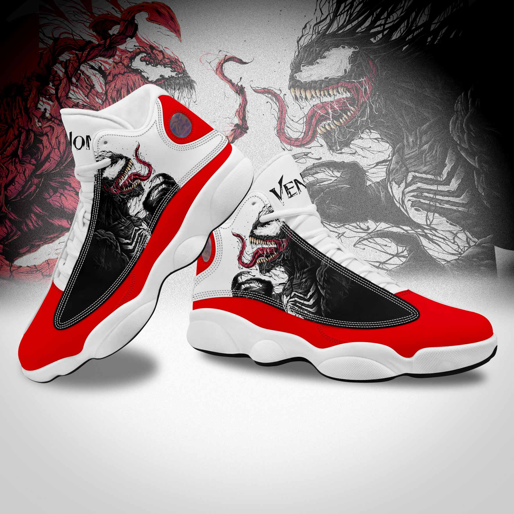 Custom Leather Material Basketball Sneakers for Men like Jordan 13
