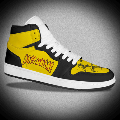 2020 New Fashion Brand High-Top Basketball Leather Shoes