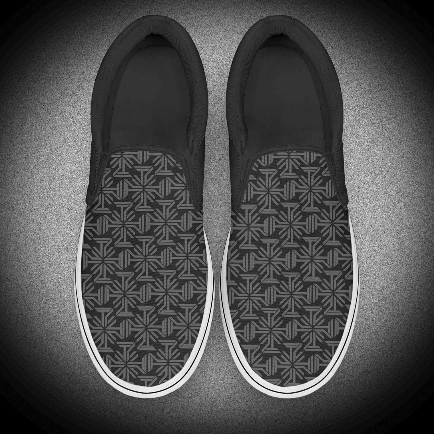 Simple Young Style Hip Hop Slip On Shoe Loafer Sneakers