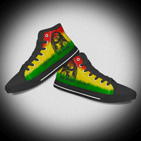 Hip Hop Casual Canvas Shoe Boots for Men