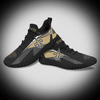 Black Color Breathble Fly Knitted Men Sports Shoes