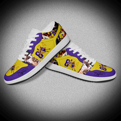 Custom Kobe Pattern Fashion Basketball Leather AJ Sneakers