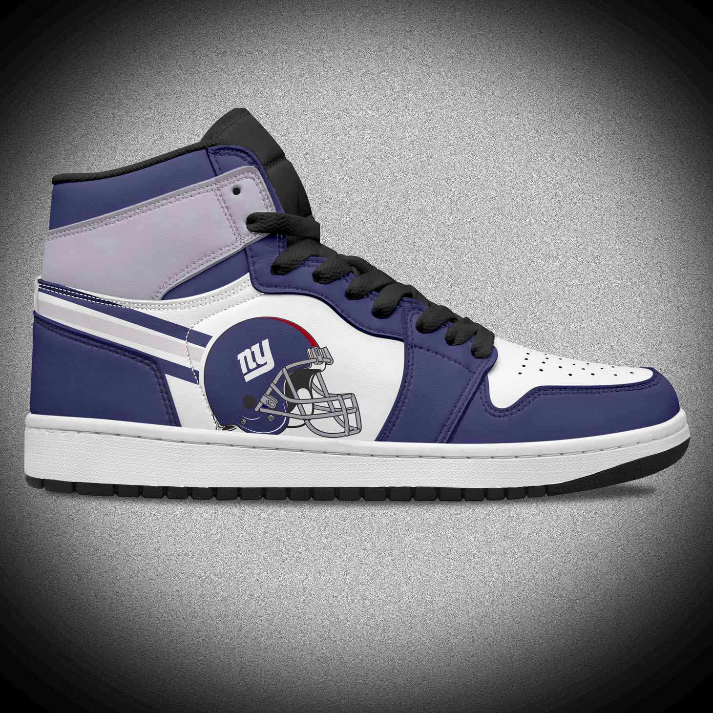 Genuine Leather High Top Fashion Sneakers for Men like Jordan